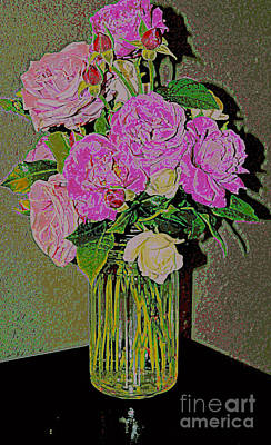 Photograph - Easter Roses 2 by Diane montana Jansson