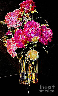 Photograph - Easter Roses 3 by Diane montana Jansson