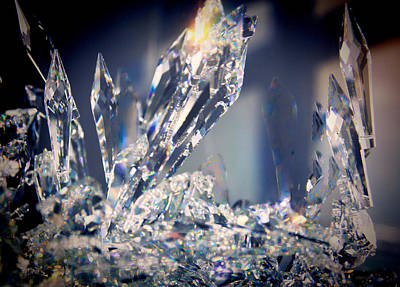 Photograph - Sun Crystals by Kathy Bassett