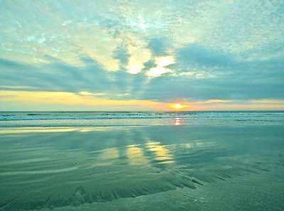 Smryna Photograph - Easter Sunrise by Angie Mahoney