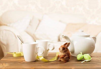 Easter Tea Break Art Print