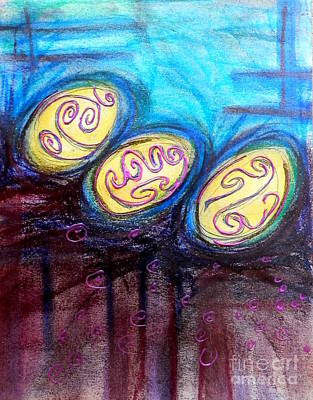 Painting - Easter Traditions by L Cecka