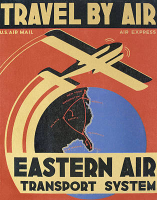 Photograph - Eastern Air, 1932 by Granger