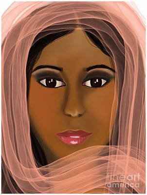 Eastern Beauty Art Print
