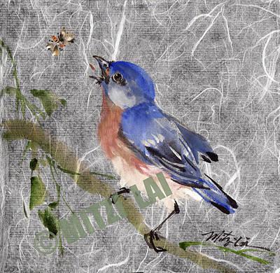 Eastern Blue Bird Original