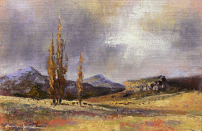 Painting - Eastern Free State Scene by Tanya Jansen