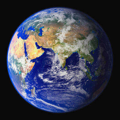 World Schooling Photograph - Eastern Hemisphere, Asia by Don Hammond