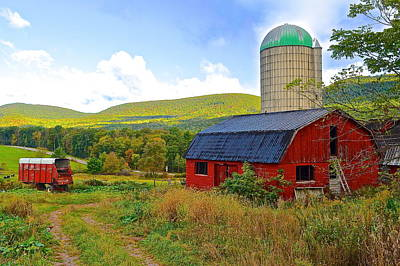 Eastern Pa Farm Art Print by Frozen in Time Fine Art Photography