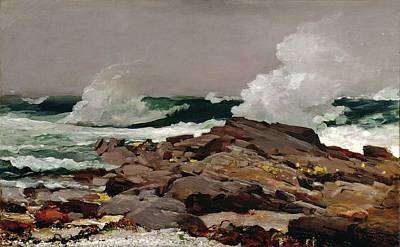 Eastern Point Painting - Eastern Point 1900 by Philip Ralley