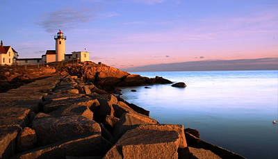 Eastern Point Photograph - Eastern Point Light  by Andrea Galiffi