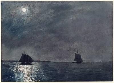 Eastern Point Light Art Print