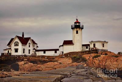 Photograph - Eastern Point Lighthouse by Joann Vitali