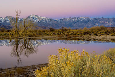 Eastern Sierra Dawn Art Print