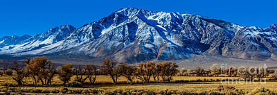 Eastern Sierra Nevada Panorama - Bishop - California Art Print
