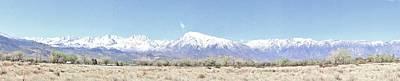 Photograph - Eastern Sierra Pano by Marilyn Diaz