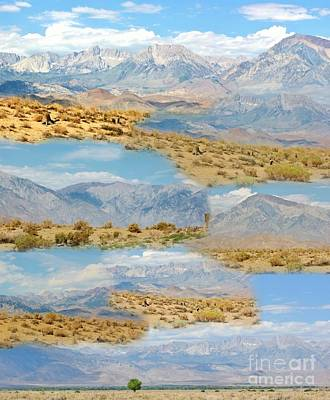 Photograph - Eastern Sierras Collage by Marilyn Diaz
