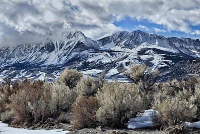 Nautical Animals - Eastern Sierras in Winter by Kathleen Bishop