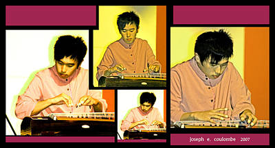 Digital Art - Eastern String Solo  by Joseph Coulombe