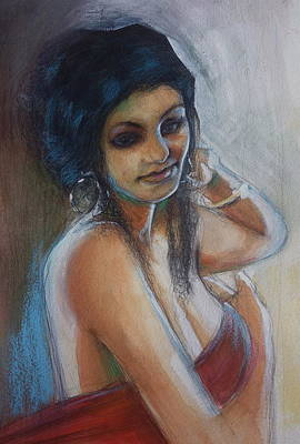 Painting - Eastern Woman by Gregory DeGroat