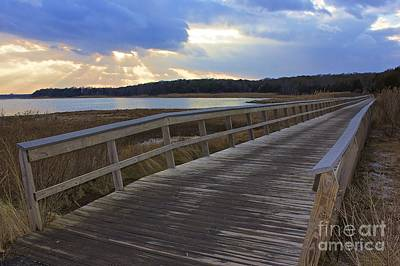 Photograph - Eastham Boardwalk by Amazing Jules
