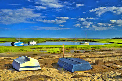 Photograph - Eastham Shoreline 2 by Allen Beatty