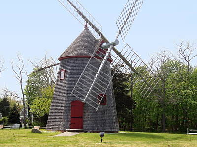 Eastham Windmill Art Print by Catherine Gagne