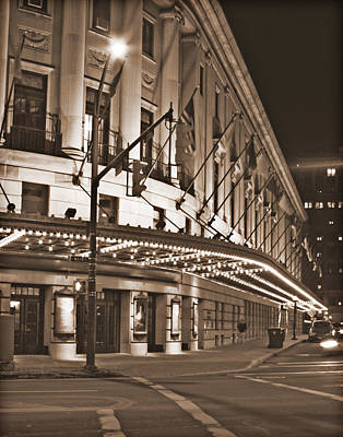 Eastman Theater Art Print by Richard Engelbrecht
