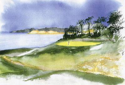 Chatham Painting - Eastward Ho Country Club by Joseph Gallant