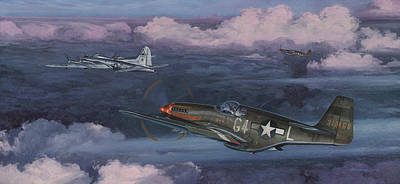 Spitfire Painting - Easy Big Friend by Wade Meyers