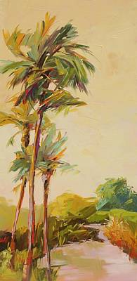 South Carolina Low Country Marsh Painting - Easy Breezy by Marissa Vogl