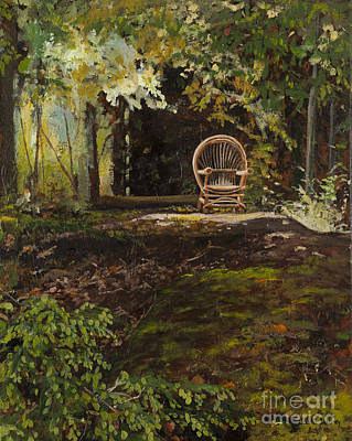 Painting - Easy Chair by Carla Dabney