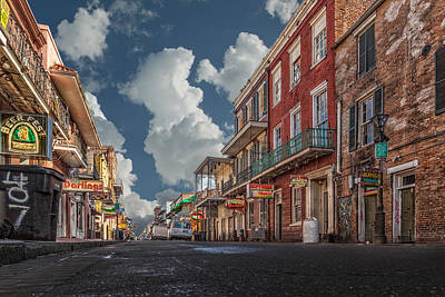 Photograph - Easy Street New Orleans by Erwin Spinner