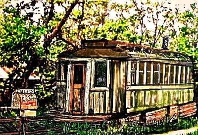 Passenger Train Car Home Original
