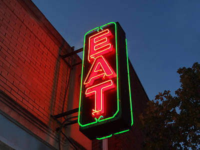 Eat 3 Art Print by Christopher Kerby