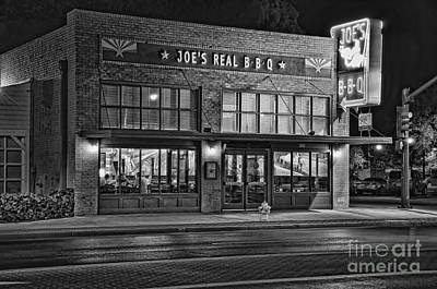 Photograph - Eat At Joe's by Eddie Yerkish