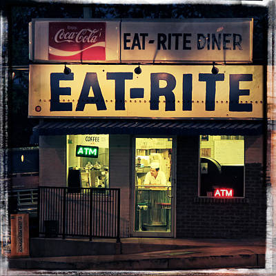 Photograph - Eat Rite Diner 2 by Garry McMichael
