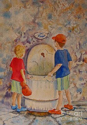 Painting - Eau Potable by Beatrice Cloake