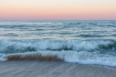 Photograph - Ebb And Flow Seaside New Jersey by Terry DeLuco