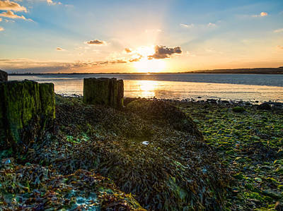Photograph - Ebb Tide At Sunset by Trevor Wintle