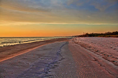 Photograph - Ebb Tide - Florida Seascape by HH Photography of Florida