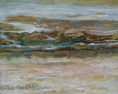 Ebb Tide Art Print by Lou Cicardo