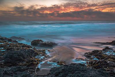 Photograph - Ebb Tide...... San Simeon by Tim Bryan