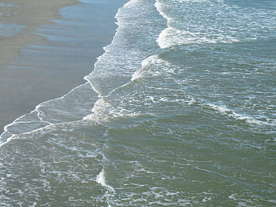 Photograph - Ebbtide At Galveston 2 by Connie Fox