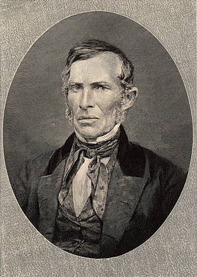 1863 Photograph - Ebenezer Evans by Universal History Archive/uig
