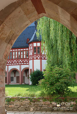 Photograph - Eberbach Abbey Germany by Eva Kaufman
