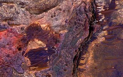 Eberswalde Crater Art Print by Nasa/jpl-caltech/univ. Of Arizona