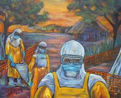 Ebola Art Print by Susi LaForsch