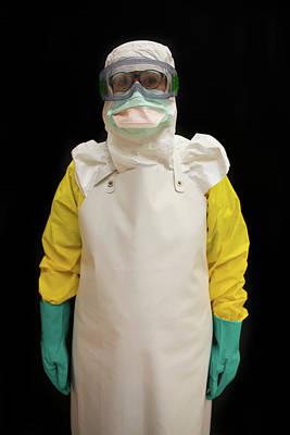 Ebola Training Centre Of Msf Art Print by Ton Koene