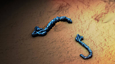 Photograph - Ebola Virus, Illustration by Sultan Alshehri