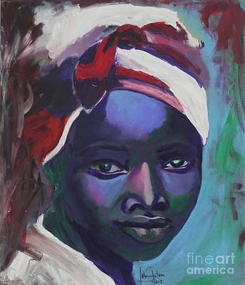 Ebony Women Art Print by Jolanta Shiloni